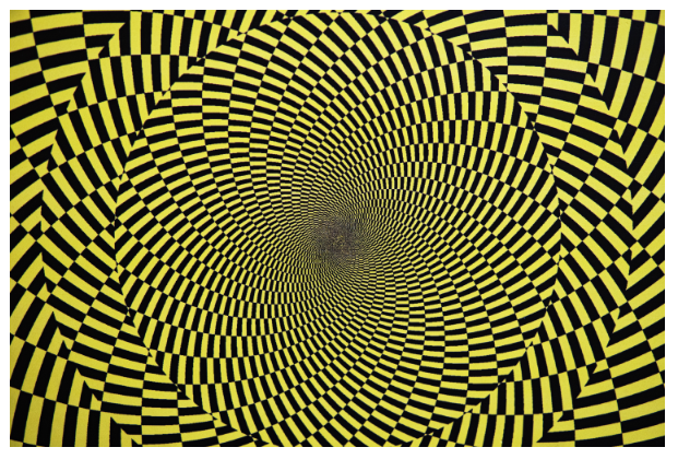 ilusión óptica fisiológica